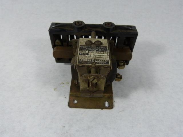 Square D 8501 AO-33 Coil Relay 10A 600V ! WOW !
