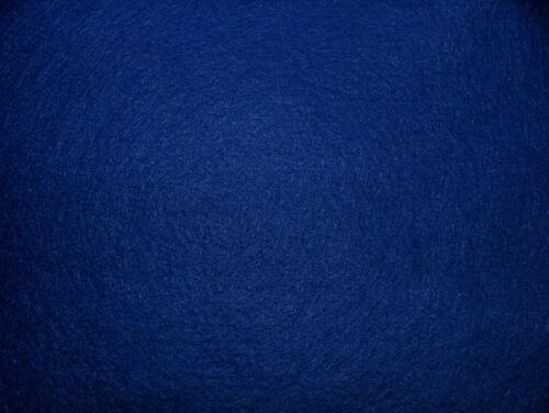 8 Yrd Blue Baize Felt Craft Fabric Card Poker Table