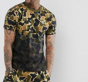 adidas originals herren t-shirt camo ce1548 camouflage größe m