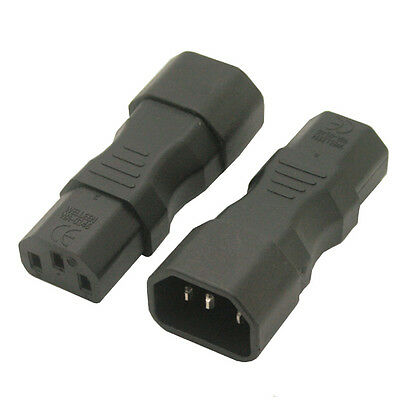 IEC 320 C14 to C13 Power adapter, IEC C13 to C14 adapter IEC male female