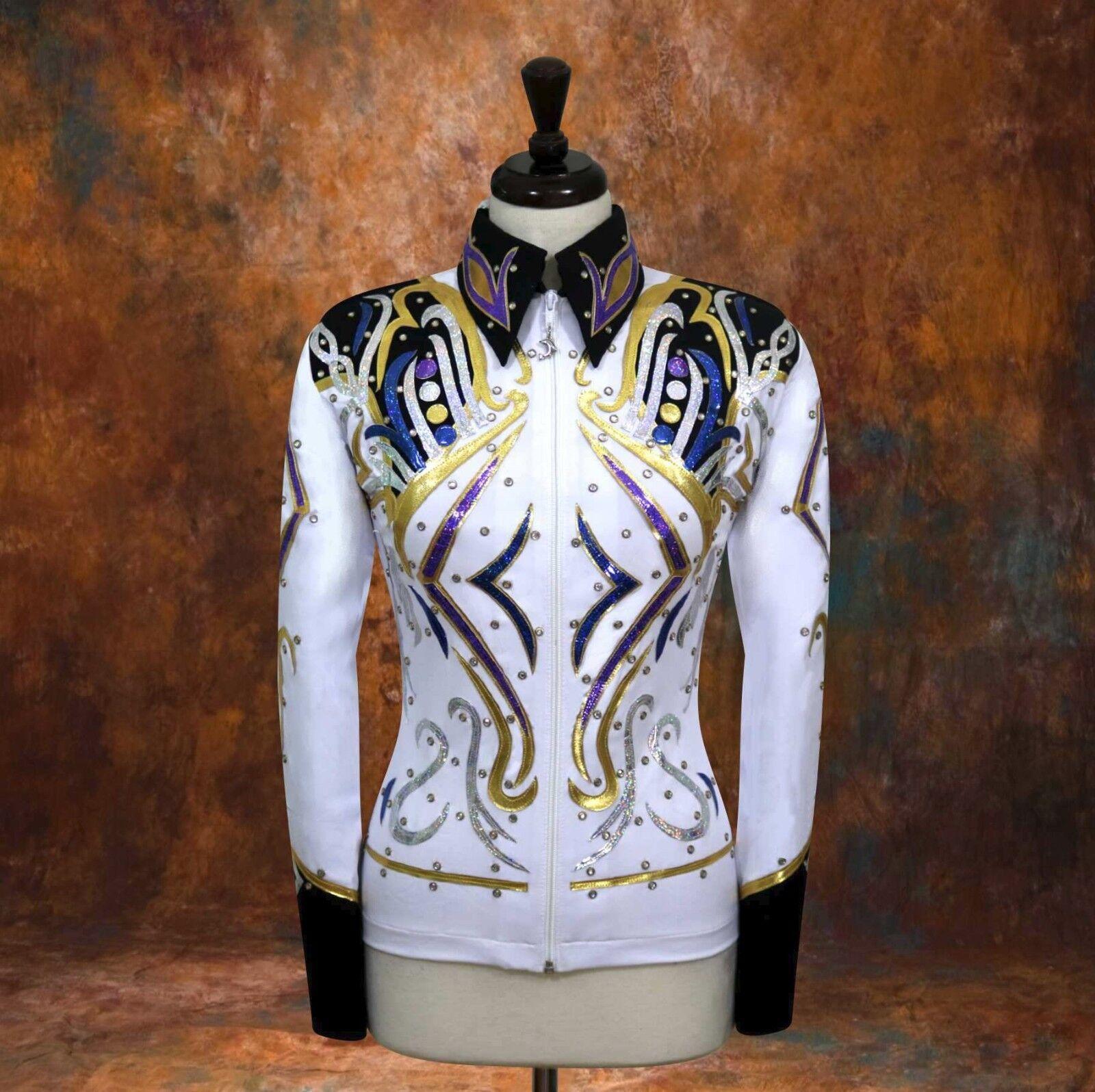 2X-LARGE Espectáculo Ocio Equitación Camisa Chaqueta Rodeo Queen Riel