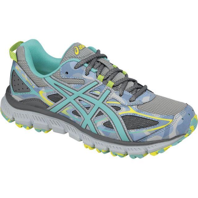 best service d75fd acd19 ASICS GEL Scram 3 T6K7N Womens Training Running Shoes Size 8 ...