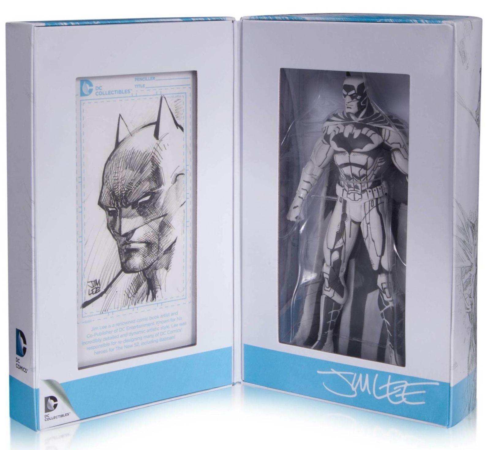 DC Diamond Exclusive SDCC 2015 Jim Lee Batman Blauline Sketch Action Figure MIB
