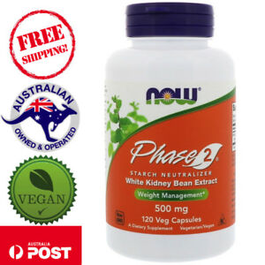 Now Foods, Phase 2 Starch Neutralizer, 500 mg, 120 Vegan Capsules