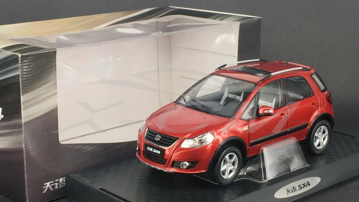 Diecast Car Model Suzuki SX4 SUV (Red) 1 18 + GIFT