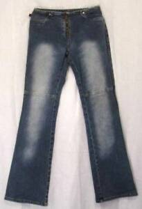 Low-Rise-FLARE-Leg-Distressed-YMI-lets-UBU-Stretch-NO-WAISTBAND-Jeans-3