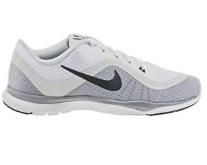 huge selection of 106a0 6e69e ... Femmes-Nike-Flexible-Baskets-6-Blanc-Basket-Course-