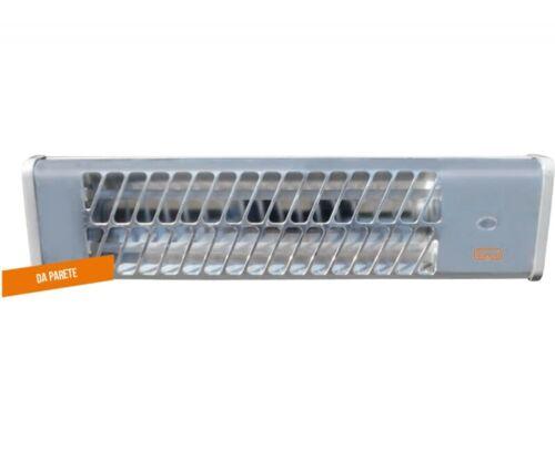 Stufa elettrica al quarzo a parete Vinco 70150