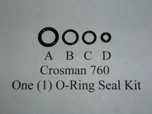 Crosman 760 Rifle Pre 1977 One O-Ring Seal Reseal Rebuild Kit 1