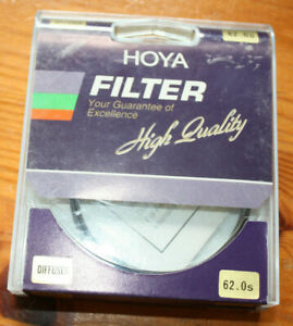 HOYA-FILTER-62-0-mm-DIFFUSER-NEW-in-box