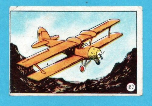STORIA COMPLETA DELL/'AVIAZIONE-LAMPO 1952-FIGURINA a scelta n.1//186-STICKER-REC.