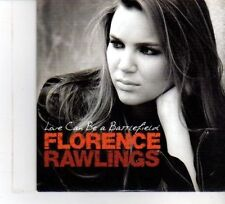 (DW390) Florence Rawlings, Love Can Be A Battlefield - 2009 DJ CD