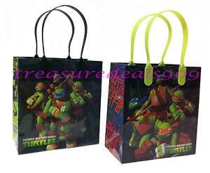Birthday Party Teenage Mutant Ninja Turtles Themed Loot Bag Sweet Bags Gift