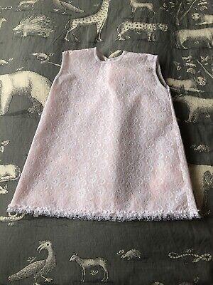Glorioso Vintage New Old Stock 1960s Rosa Nylon Shift Dress-
