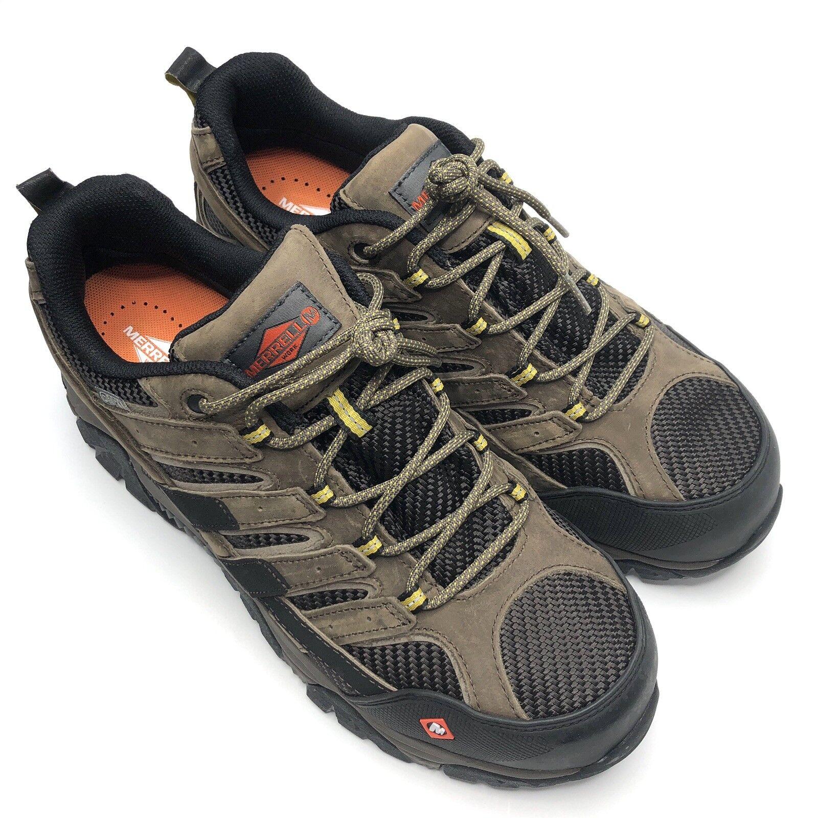 Merrell Hommes Moab 2 Vent Imperméable composite Toe Travail Chaussure J15773 Taille  12