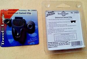 Universal-Black-Swivel-Belt-Clip-Travel-Logic-Cell-Phone-GPS-Baby-Monitor-New