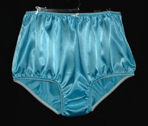 Granny Panties Color Option Custom Adult Sissy SATIN Full Cut Panties