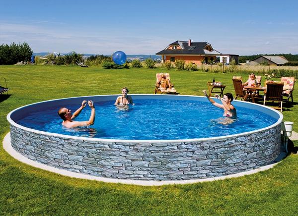 above ground or inground Swimming Pool Kit 12ft Round