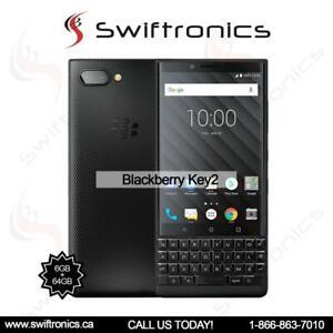 BRAND NEW BLACKBERRY KEY2 64GB 6GB RAM - 4.5 INCH QWERTY DUAL SIM Mississauga / Peel Region Toronto (GTA) Preview