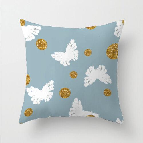 Decor Cushion Polyester Pillow Sofa Home Case Cover Throw Waist 18/'/'