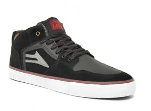 LAKAI-Shoes-Telford-All-Weather-black-suede-Skate-Hi-NEUWARE-41-46