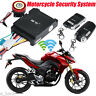 Motorcycle Scooter Remote Control Anti-theft Alarm Security System Engine Start