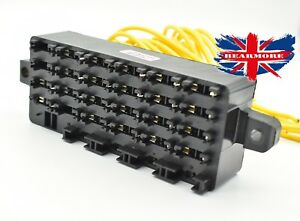 image is loading jcb-machine-tractor-fuses-fuse-box-28-way-