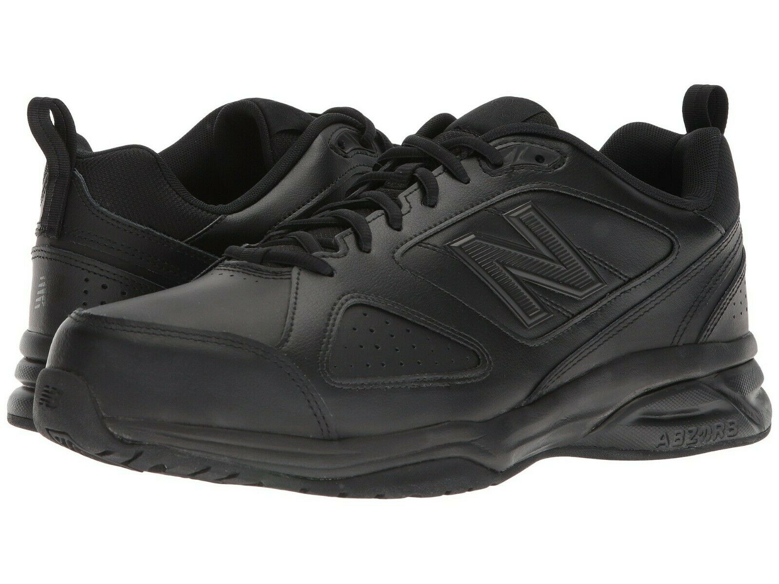 NEW Mens New Balance 623v3 Black Leather Athletic Cross Training shoes AUTHENTIC