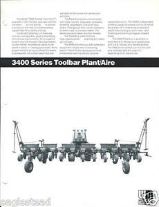 Farm Equipment Brochure White 3400 5400 Plant Aire Planter 2