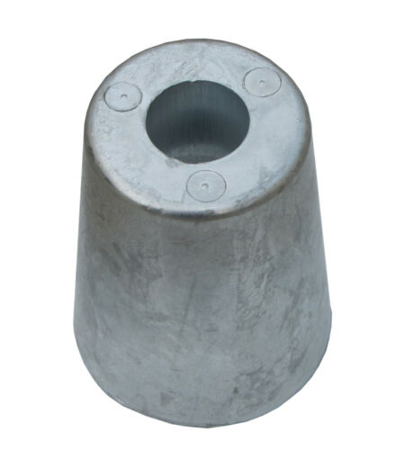 30mm Beneteau anode for conical propeller nut in zinc