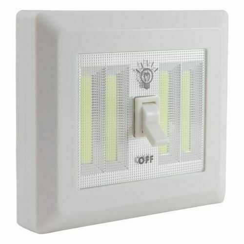 10 Pack Cob Led Wall Switch Wireless Closet Cordless Night Light Battery Operate For Sale Online Ebay