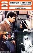 Fiche Cinéma Movie Card. Johnny s'en va-t-en guerre/Johnny got is gun (USA) 1971