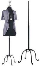 Womens Dressmaker Form Jersey Seamstress Dress Black Mannequin Female Stand