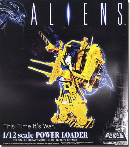 Aoshim Figure Miracle House Aliens 1 12 Scale Die-cast Power Loader with Ripley