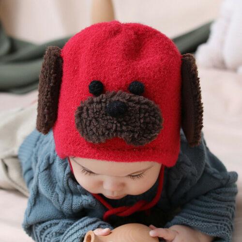Toddler Kids Girl/&Boy Autumn Winter Crochet Knit Hat Beanie Cap With Scarf Set