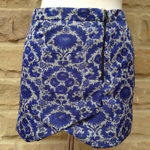 Great-ZARA-Zip-Detail-Lined-Mini-Skirt-Size-S-8
