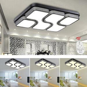 Das Bild Wird Geladen 24W 80W Design LED Deckenlampe Dimmbar Led Deckenleuchte