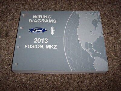 2013 Ford Fusion Electrical Wiring Diagram Manual S Se Titanium 1 6l 2 0l 2 5l Ebay