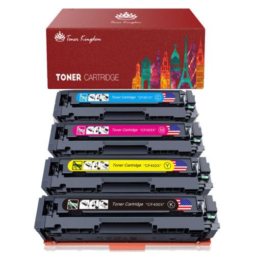 Toner Cartridge CF400X-CF403X 201X For HP LaserJet Pro M252 M277n M277dw Lot