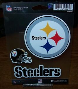 Rico Industries NFL Pittsburgh Steelers Home State Sticker