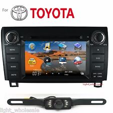 "7"" 2Din Car DVD Player Radio Stereo GPS Navi BT TV for Toyota Tundra 2003-12+Cam"