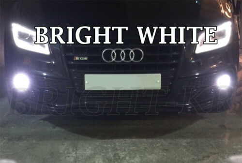 Audi SQ5 1st Gen H11 DEL Ampoules Anti-Brouillard Canbus-Bright Xénon Blanc