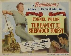 THE-BANDIT-OF-SHERWOOD-FOREST-Movie-POSTER-22x28-Half-Sheet-B-Selma-Erge-Mehmet