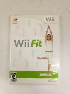 Nintendo-Wii-Fit-Exercise-Fitness-Workout-Cardio-Yoga-Balance-Game-FREE-FAST-S-H