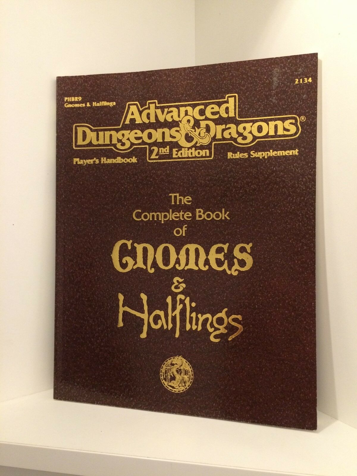 The Complete Book of Gnomes & Halflings, Dungeons & Dragons 2nd Ed. (AD&D), RPG