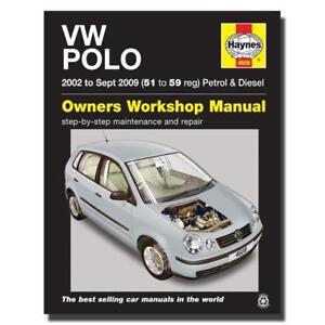 haynes manual volkswagen polo petrol diesel 51 59 car workshop rh ebay com vw polo 9n workshop manual pdf vw polo 9n repair manual pdf