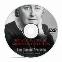 58 Agatha Christie Mystery, Old Time Radio Show, Otr, Audio Books, Dvd-rom E92