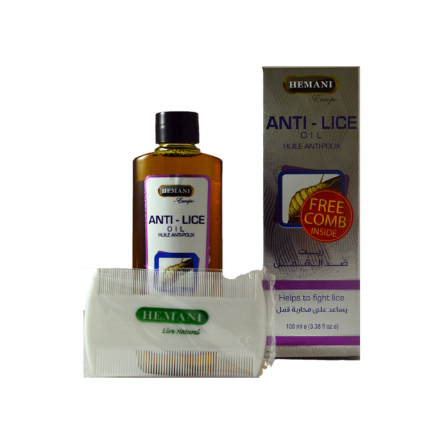 Hemani Anti Lice Natural Treatment Oil