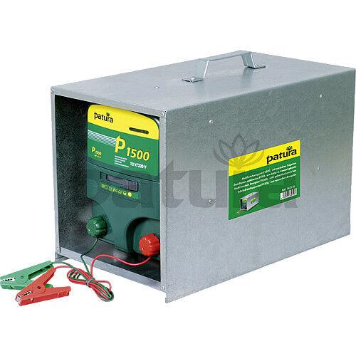 Patura p p p 1500 électrificateur 12 + 230 volts avec tragebox NEUF 4d6eb9