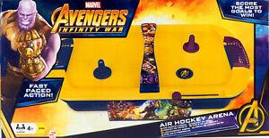 Marvel Avengers Infinity guerre air hockey ARENA jeu  </span>
